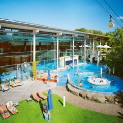 Sonniger Tag in der Claudius Therme $ Foto: Claudius Therme